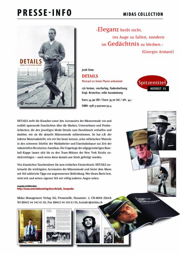 presseinfo details pdf - Midas Verlag AG